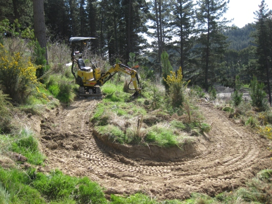 Digger finish switchback...not bad!